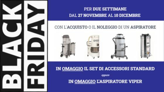Black Friday Aspiratori CFM 2020